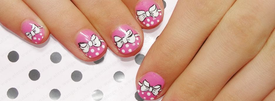 Фото рисунки на ногтях детям