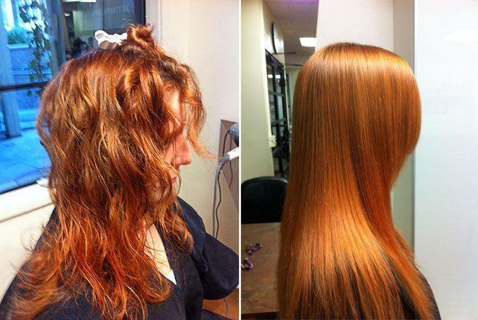 Термокератин волос